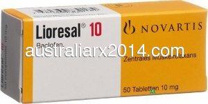 Buy  Generic Lioresal  Australia